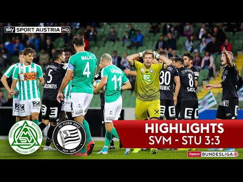 SV Bauwelt Koch Mattersburg 3-3 SK Sport Klub Punt...