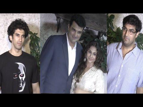 Vidya Balan Hosted A Screening Of Movie 'Hamari Adhuri Kahani' For Her Family