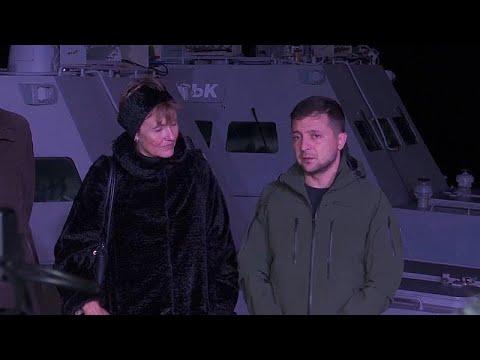 Παραδόθηκαν με… ελλείψεις από τη Ρωσία στην Ουκρανία τα τρία πολεμικά πλοία …