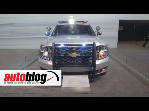 2015 Chevrolet Tahoe Police Pursuit Vehicle | 2014 Chicago Auto Show | Autoblog