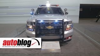 2015 Chevrolet Tahoe Police Pursuit Vehicle | 2014 Chicago Auto Show