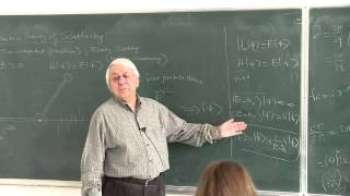 METU - Quantum Mechanics II - Week 7 - Lecture 2