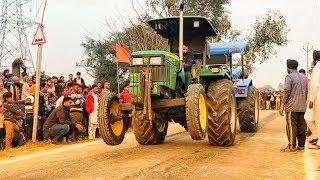 John deere 5310 Vs Sonalika 60 Tractor Tochan Punjab