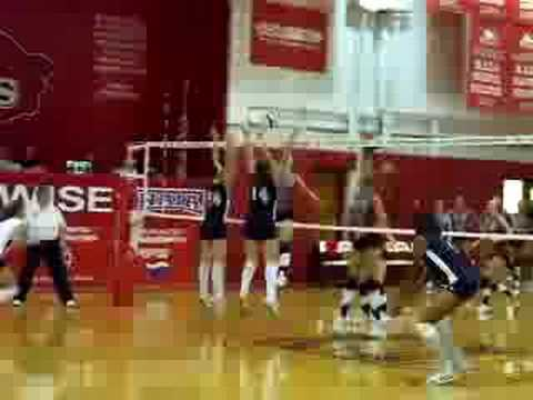 UVA Wise Volleyball Practice