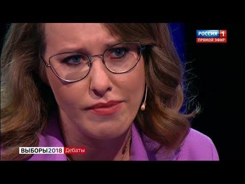 Жириновский довёл Собчак до слёз и истерики (14.03.2018 23:15) - DomaVideo.Ru