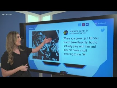 Carolina Panthers players react to Luke Kuechly retirement
