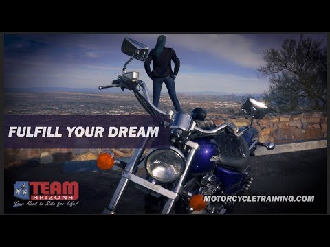 It All Starts Here | Take Control | Get Your Arizona Motorcycle License | TEAM Arizona