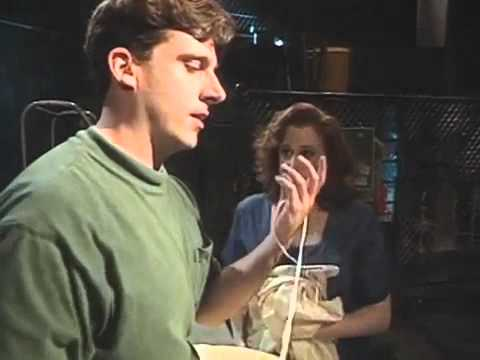 A Young Steve Carrell performing at Second City
