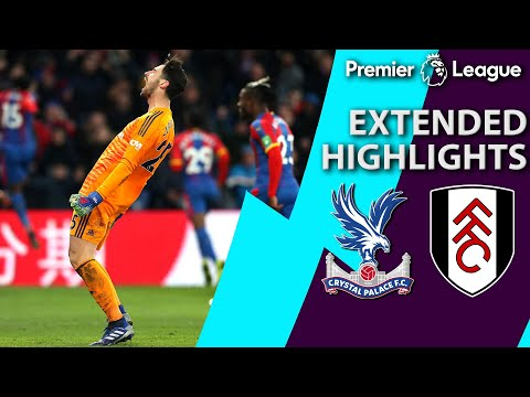 Video: Crystal Palace v. Fulham   PREMIER LEAGUE EXTENDED HIGHLIGHTS   2/2/19   NBC Sports