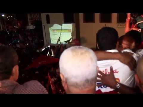 Rui Costa é o novo Governador da Bahia - Festa no Rio Vermelho