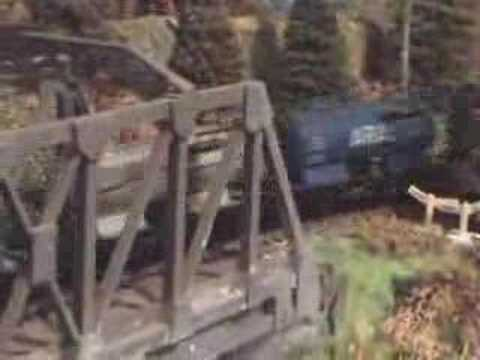HO Scale Model Railroad Layout