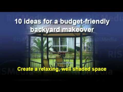 Budget Friendly Backyard Makeovers