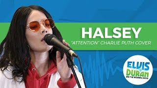"Video Halsey - ""Attention"" Charlie Puth Cover 