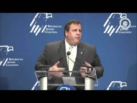 ChrisChristieVideos - New Jersey Governor Chris Christie spoke to the Republican Jewish Coalition on November 7, 2011. He destroys President Barack Obama on a speech he made the p...