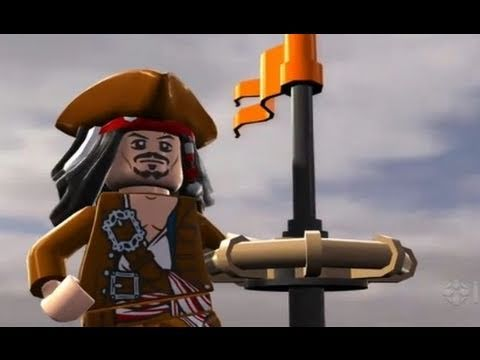 трейлер LEGO Pirates of the Caribbean