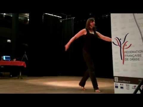 Gleeful waltz - Line Dance (видео)