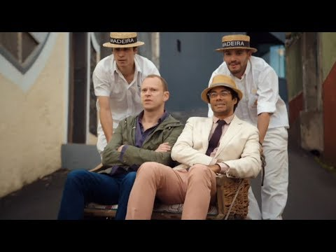Richard Ayaode & Robert Webb In High-velocity Wicker Travel Man: 48hrs In Madeira...