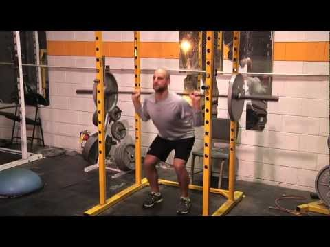 HOCKEY TRAINING:  How to Squat for Strength and Power