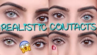 Video Coloured Contacts For DARK EYES | Solotica MP3, 3GP, MP4, WEBM, AVI, FLV Juni 2018