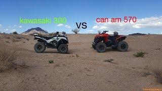 9. Kawasaki vs can am