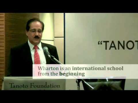Tanoto Initiative at The Wharton School – Prof. Harbir Singh Remarks