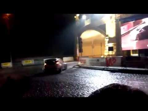 BIG DRIFT dla kibiców Jan Chmielewski Jacek Nowaczewski 52. Rajd Barbórka Karowa Ford Fiesta R5 +