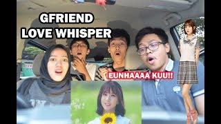 Video GFRIEND - LOVE WHISPER MV REACTION ( Ft TiffaniAfifa ) MP3, 3GP, MP4, WEBM, AVI, FLV September 2017