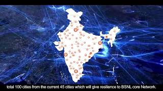 BSNL marches into the Next Generation with Optical Transport Network