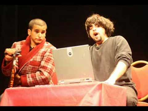 عدي خليفه والياس مطر (مقطع التلفون)