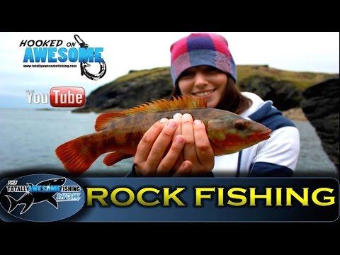 LIGHT ROCK FISHING (LRF) in Cornwall, UK – TAFishing Show