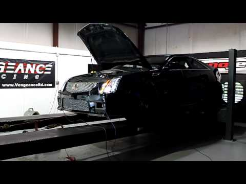 Vengeance Racing Built 2011 Cadillac CTS-V Coupe Dyno Pull