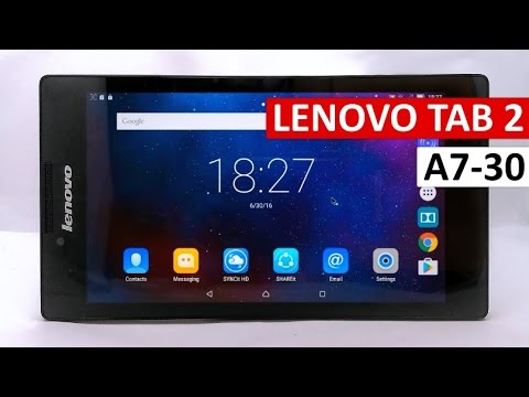 📷 Lenovo Tab 2 A7-30 Review : Specifications & Performance