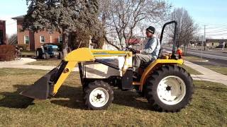 10. CUB CADET 7260 Tractor 476 Loader 4WD Diesel Text Review Drive