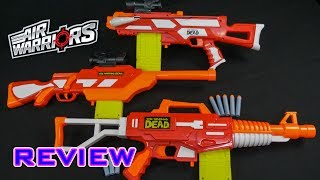 Buzz Bee blasters at Target (link to items will be added when they launch): https://www.target.com/s?searchTerm=Buzz%20Bee%20BlasterGroup review of a few blasters in the Air Warriors Walking Dead series.- - - - - - - - - - - - - - - - - - - - - - - - - - - - - -