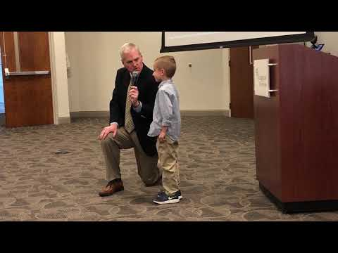 Video: Parker Haga leads the Pledge of Allegiance