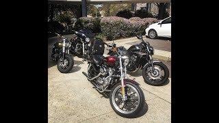 2. 2014 Harley Davidson XL883L Superlow Group ride