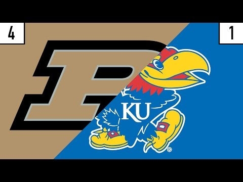 4 Purdue vs. 1 Kansas Prediction | Who's Got Next?