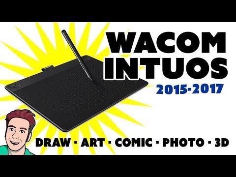 WACOM INTUOS REVIEW: Draw, Art, Comic & Photo (2015-2017 Models)