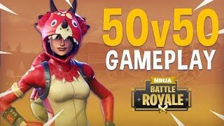 50v50 Playlist! - Fortnite Battle Royale Gameplay - Ninja