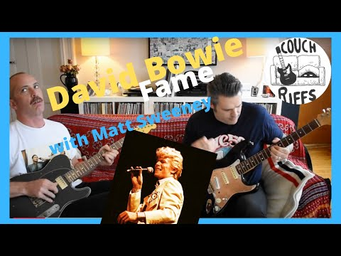 David Bowie : Fame with Matt Sweeney of Chavez and Guitar Moves COUCH RIFFS