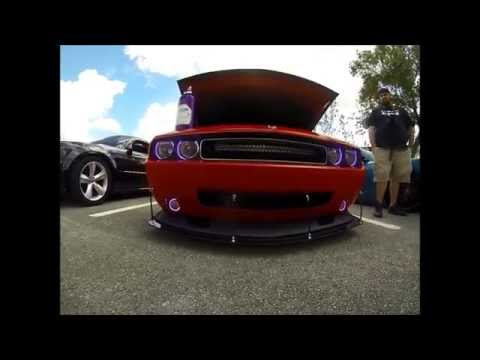 Hemi Challenger on Spray in South Florida