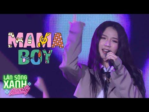 MAMA BOY - AMEE LIVE | LÀN SÓNG XANH PARTY 2020