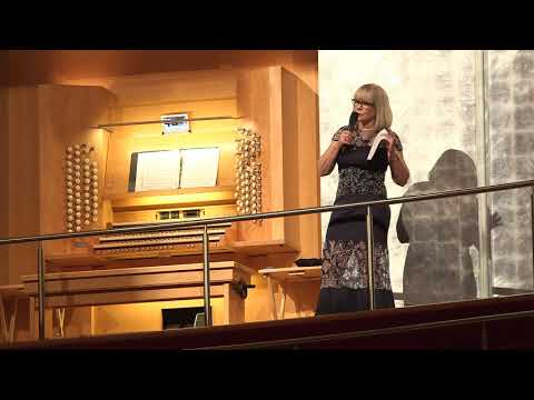 Debbie Dickson Organ Performance at Segerstrom Hall