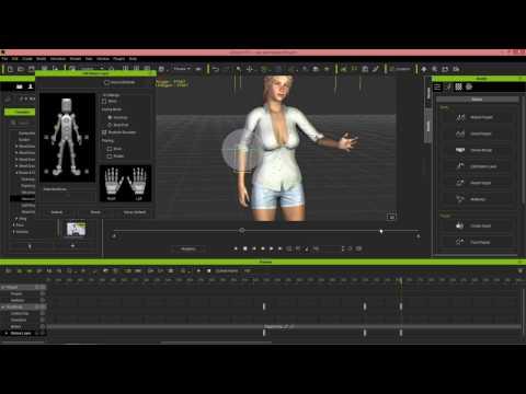 iClone 6.5 Tutorial - Animating Daz Genesis 3 Characters in iClone