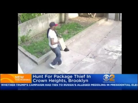Police: Hunt For Package Thief In Crown Heights