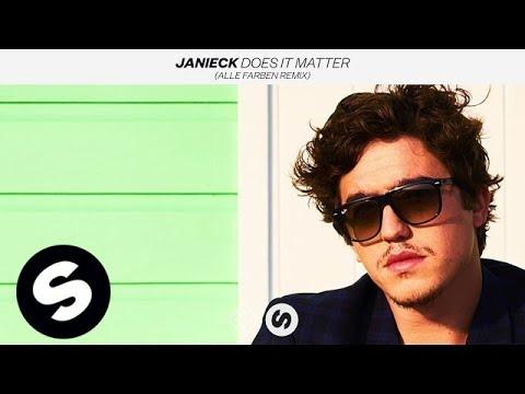 Janieck - Does It Matter (Alle Farben Remix) [2018] - Alice Deejay - Better off alone feldolgozás