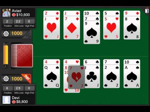Video of High 5 Poker Game
