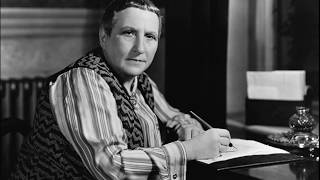 """Gertrude Stein (February 3, 1874 – July 27, 1946) was an American novelist, poet, playwright, and art collector. Born in the Allegheny West neighborhood of Pittsburgh, Pennsylvania, and raised in Oakland, California, Stein moved to Paris in 1903, and made France her home for the remainder of her life. From the time she moved to France in 1903 until her death in Neuilly-sur-Seine in 1946, American writer Gertrude Stein was a central figure in the Parisian art world. An advocate of the avant garde, Stein helped shape an artistic movement that demanded a novel form of expression and a conscious break with the past. The salon at 27 rue de Fleurus that she shared with Alice B. Toklas, her lifelong companion and secretary, became a gathering place for the """"new moderns,"""" as the talented young artists supporting this movement came to be called. Among those whose careers she helped launch were painters Henri Matisse, Juan Gris, and Pablo Picasso.Copyright Disclaimer Under Section 107 of the Copyright Act 1976, allowance is made for """"fair use"""" for purposes such as criticism, comment, news reporting, teaching, scholarship, and research. Fair use is a use permitted by copyright statute that might otherwise be infringing. Non-profit, educational or personal use tips the balance in favor of fair use."""