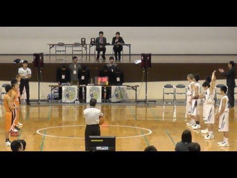 福岡県中学校 新人バスケ2014 男子決勝 西福岡vs中村三陽 【HD】
