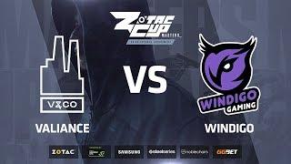 Valiance vs Windigo, map 3 mirage, ZOTAC Cup Masters 2018 Europe Finals